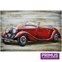 Primus Vintage Cruiser Handcrafted 3D Metal Wall Art.