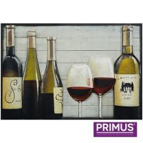 Primus An Excellent Vintage Handcrafted 3D Metal Wall Art.