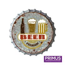 Primus Premium Beer Metal Bottle Cap - 33cm