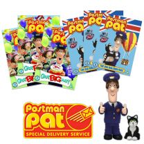 Postman Pat-Pack of 25 Animated Assorted DVDs
