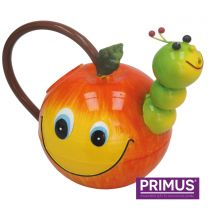 Primus Children's Apple with Worm Metal Watering Can