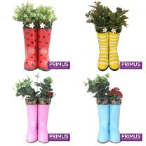 16 Primus Hanging Pair of Wellies Metal Planters Bundle