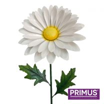 Primus 1.2m Handcrafted Giant Metal Daisy Garden Stake