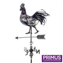 Primus 3D Rooster Weathervane with Garden Stake Stainless Steel
