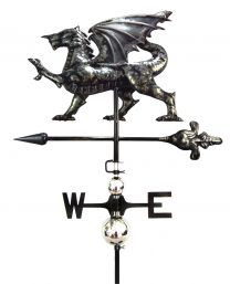 Primus 3D Dragon Weathervane with Garden Stake Stainless Steel