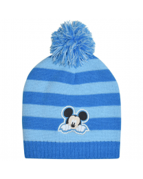 Baby Beanie Blue Mickey Mouse