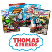 Thomas & Friends Animated DVD Bundle