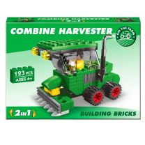 Combine Harvester Brick Set: LEGO Compatible