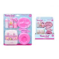 10Pc Baby Dolls Accessories Playset