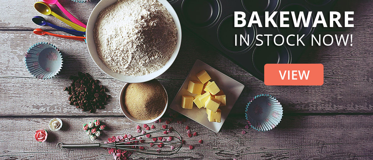 Baking Range Now Available