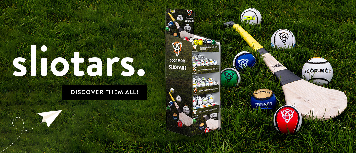 Extensive Range of Sliotars For All Ages Now Available